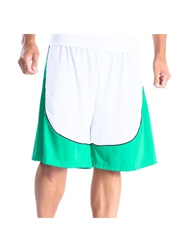 Sportive Şort Beyaz